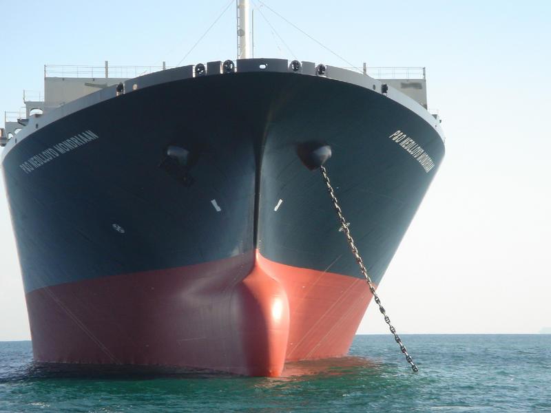 新造船紹介 : 7,500 個積み超大型コンテナ船